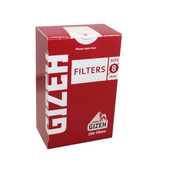 FILTERS GIZEH 8mm 100 PCS