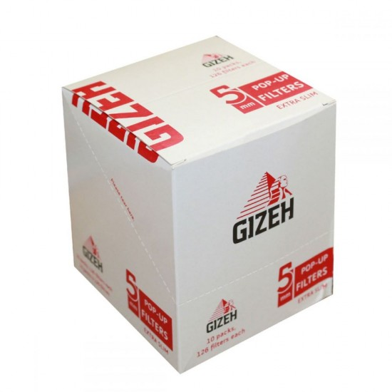 FILTERS GIZEH EXTRA SLIM 5mm 126 PCS
