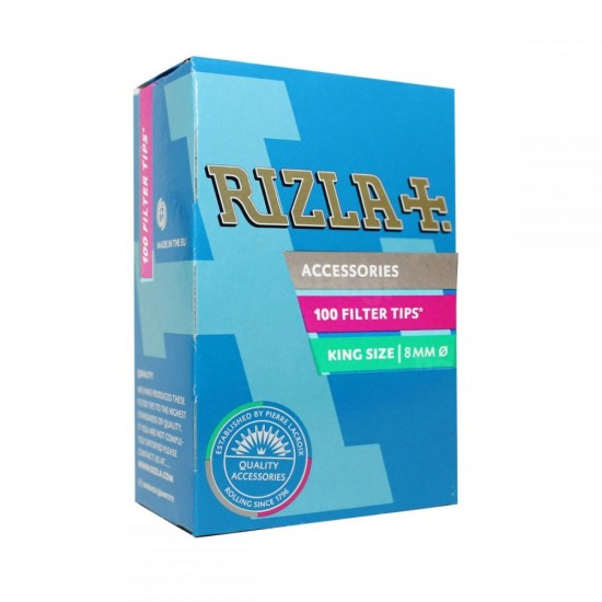 FILTER RIZLA KING SIZE 8.0mm 100PCS