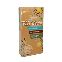 FILTER RIZLA NATURA ULTRA SLIM 5.7mm 120PCS