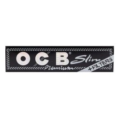 OCB BLACK KING SIZE SLIM CIGARETTE PAPER + TIPS