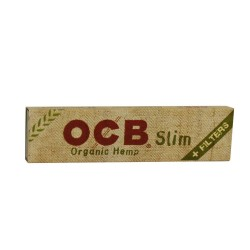 OCB ORGANIC KING SIZE SLIM CIGARETTE PAPER + TIPS