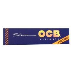 OCB ULTIMATE KING SIZE SLIM CIGARETTE PAPER + TIPS