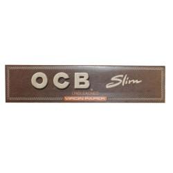 OCB UNBLEACHED KING SIZE SLIM CIGARETTE PAPER