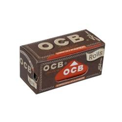 OCB UNBLEACHED SLIM ROLL CIGARETTE PAPER