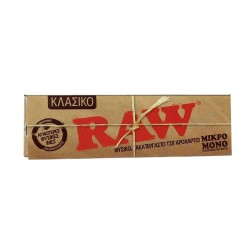 RAW CLASSIC CIGARETTE PAPER WITH CUTTED CORNERS
