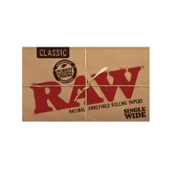 RAW CLASSIC DOUBLE CIGARETTE PAPER