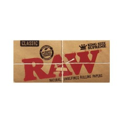 RAW CLASSIC KING SIZE SUPREME CIGARETTE PAPER