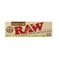 RAW ORGANIC HEMP 1, 1/4 CIGARETTE PAPER