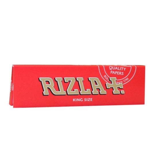 RIZLA RED CIGARETTE PAPER KING SIZE