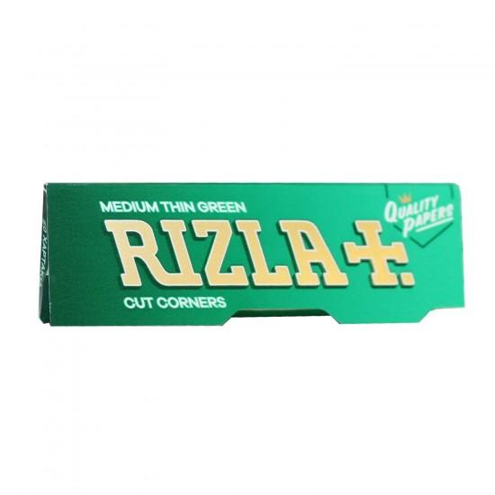 RIZLA GREEN CIGARETTE PAPER
